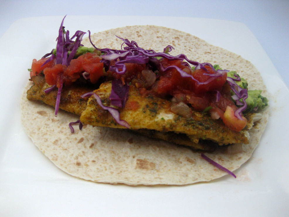 Mandarin pie fish tacos for Mexican fish dishes