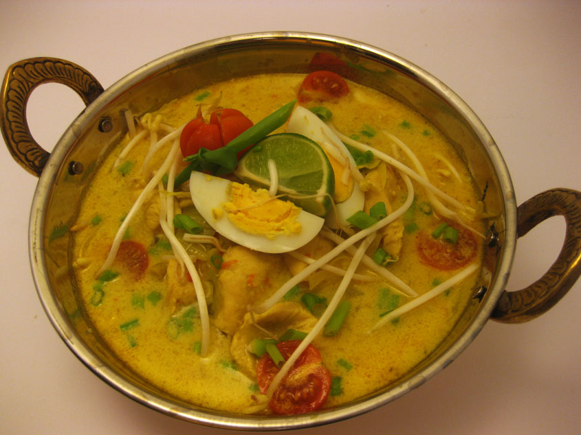 Mandarin Pie Soto AyamIndonesian Soup